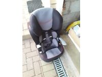 Garage clearence child adjustible car seat.
