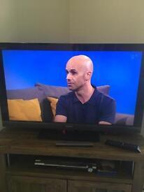 """Sony Bravia LCD 40"""" tv with dvd home cinema system"""