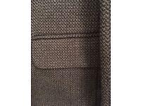 Men's pure wool tweed jacket. 38 inch. Brown/black. As new.