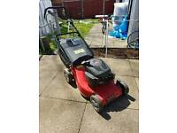 Champion petrol lawnmower self propelled spares or repairs