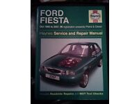 Haynes Ford fiesta manual