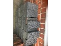 Staffordshire blue paving bricks