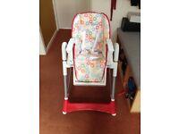 Babylo Skittles high chair