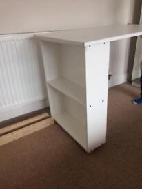 Noa and Nani desk to fit under cabin bed- white