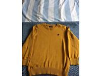 Next mustard boys sweater Age 8