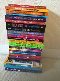 Set of Jaqueline Wilson books