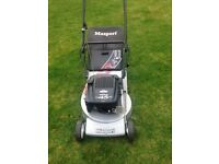 Lawnmower/grass cutter masport hardly used £125