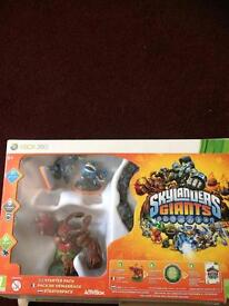 Skylanders Giants Starter Pack and extra figures. Xbox 360.
