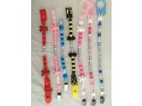Personalised dummy clips. Buy One Get One Free