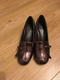 Brand new shoes with heel from M&S size 5 1/2