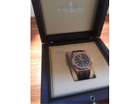Audemars Piguet Royal Oak 41mm Rose Gold & Leather Strap Swiss ETA
