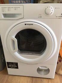 Hotpoint 8kg condenser tumble dryer