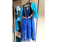 3 Disney princess costume dresses good condition