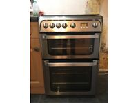 Hotpoint Ultima Gas Double Oven and Hob