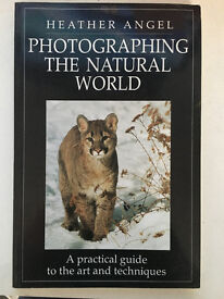 Photographing the Natural World, Heather Angel (Excellent condition & Free shipping)