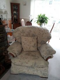 Immaculate two seater sofa & two chairs