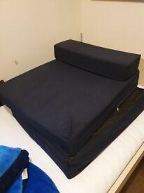 Overnite foam bed