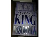 Stephen King Hardback Book Insomnia - Perfect Condition