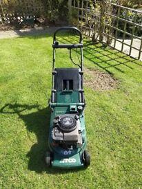 Atco admiral 16se roller electric start lawnmower mower