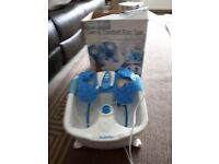 Babyliss care&comfort foot spa