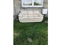 Sofa need collected asap £30 do someone a turn