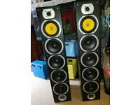 Skytronic 4way speakers