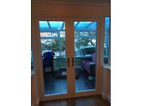 UPVC frame & double doors