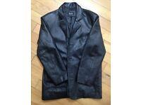 Leather jacket (L)