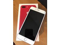 **SWAP/SALE** IPHONE 7 PLUS In LIMITED EDITION RED 128GB UNLOCKED