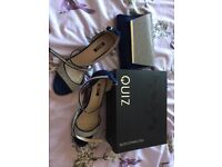 Shoes and bag from quiz