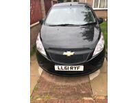 Chevrolet Spark 2012 plate 1 litre petrol Mot till March 2019 £30 road tax cheap to run