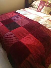 Next patchwork bedspread