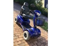 8mph invacare meteor mobility scooter used working