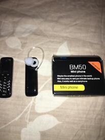 Worlds Smallest mobile phone Unlocked Black