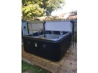 SUPERIOR SPAS LUXURY 'HAPPY' HOT TUB SPA WHIRLPOOL 5-6 SEATS WATERFALL & LEDS