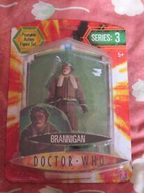 Doctor Who Brannigan figure