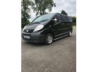 Mint 2008 primastar full psv 6 seater side bars chrome mirrors take small trade in