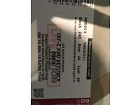 Beyonce / Jay-Z tickets x2 (seated - facing stage) - London - 15 June