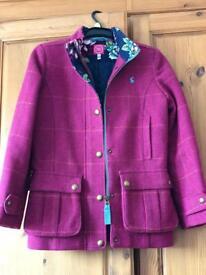 Joules Tweed Coat