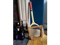 Vintage tennis racquet 1960s Grays Cambridge