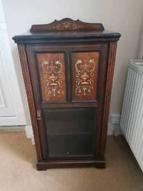 Chippendale music cabinet
