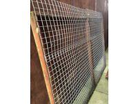 Dog run/enclosure