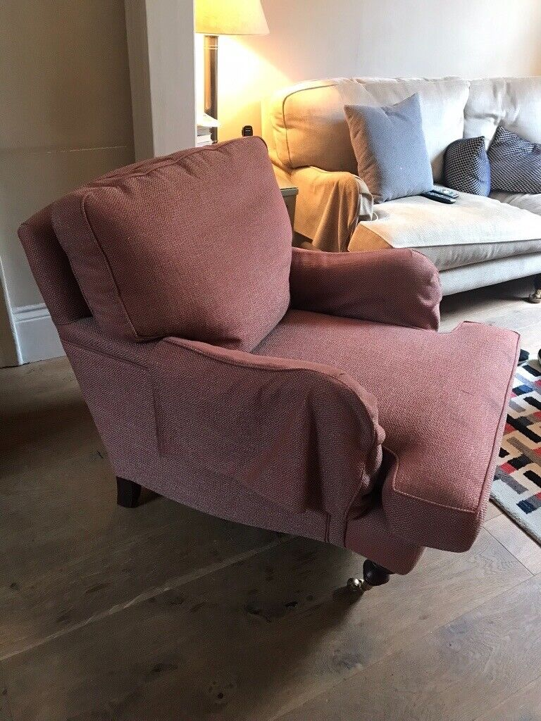 Classic comfy red armchair | in Victoria, London | Gumtree