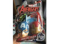 Avengers walkie talkies brand new in box