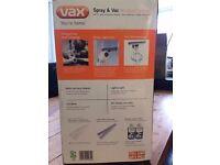 Vax Spray & Vac Window Cleaner BNIB