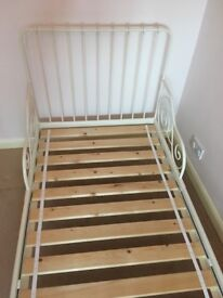 MINNEN Ikea Bed Frame with slatted base bed