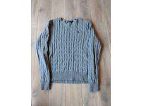 Ralph Lauren Cable Cotton Sweater - Size M/M