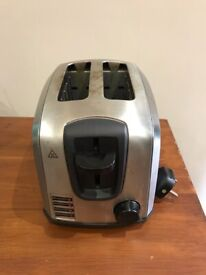 Russell Hobbs silver toaster