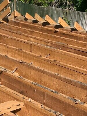 "14 x Timber Joists 8.5"" x 2"" x 4.8m long"