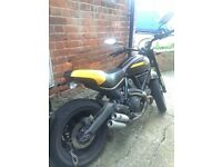 Ducati Scrambler Full Throttle 2015/5000miles
